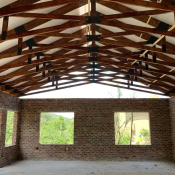 Designer Roof Trusses Inzalo Safari Lodge03
